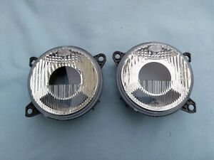 "BMW E32, E34 M5 HELLA EURO LOW BEAM LIGHTS / LENSES, OEM, BRAND NEW, ""SMILEY´S"""