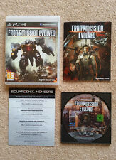 Front Mission Evolved PS3  / complet / b.r zero rayure / envoi gratuit
