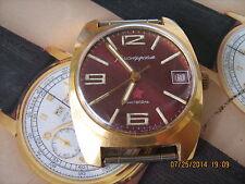 Komandirskie Soviet military wristwatch,cushion shape,hacking balance,nice cond.