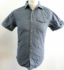 883 Police Mens Colton Shirt Flint Blue Small rrp £40 BOX72 03 G