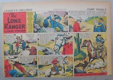 Lone Ranger Sunday Page by Fran Striker and Charles Flanders from 7/30/1939