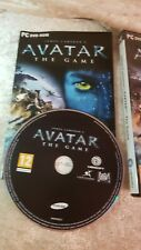 James Cameron's Avatar The Game Disc, Manual & Box Set PC Computer Console Item