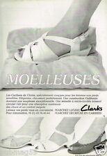 Publicité advertising 1988 Les Chaussures escarpins Clarks