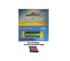 Eunicell 23A 12v Alkaline battery Batteries A23 MN21 L1028 GP23A 60mAh 1st post