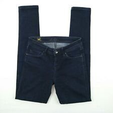 Lee - 'Lynn Narrow' Dark Blue Skinny Stretch Denim Jeans Women's Size 26