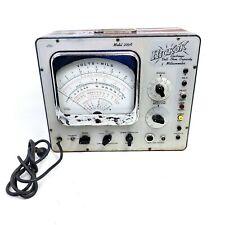 New Listingfor Repair Vintage Hickok 209a Vacuum Tube Volt Voltmeter Ham Amplifier Tester