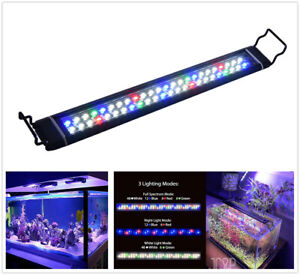 Color Changing Full Spectrum Aquarium LED Light Submersible Aquarium Fish Tank
