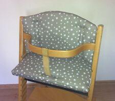 Sitzverkleinerer Sitzkissen STERNE für Stokke Tripp Trapp Babyset Hochstuhl NEU