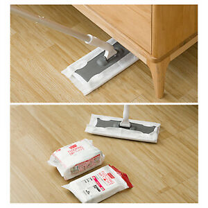 Non-Woven Wet or Dry Wipes for Floor Sweeper Cleaner Static Cleaning Mop choose