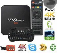 TV BOX ANDROID 8.1 4K FULL HD 1080P 2GB 16GB RAM SMART DECODER WIFI MXQ PRO
