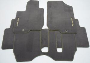 New OEM Kia Rondo Floor Mat Set Round Grommet Holes P8140-1D011-ND