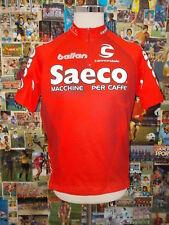 maglia body ciclismo bike shirt maillot camiseta SAECO CANNONDALE D636 TG L
