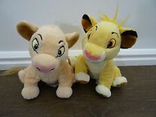 Disney The Lion King Simba Nala Baby Plush Stuffed Animal