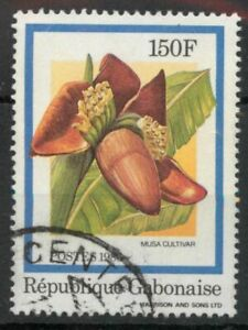Gabon 1986 Flowers 150f SG 950 used *COMBINED POSTAGE*