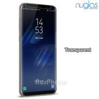 Galaxy S8 + Note 8 NUGLAS Tempered Glass Full Cover Screen Protector For Samsung
