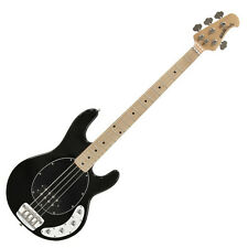 Music Man Stingray 3-EQ Black MN - 4-Saiter E-Bass in schwarz inkl. Koffer