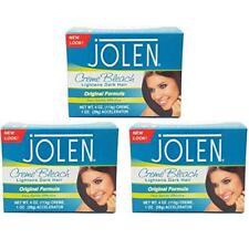 Pack of 3 Jolen Creme Bleach Regular 12 oz. 4 oz. Each