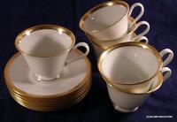 Lenox Oxford BENNINGTON Cup & Saucer Set of SIX