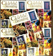 Crafting And Decorating Made Simple 5 Complete Binder Books Projects Sew Gifts