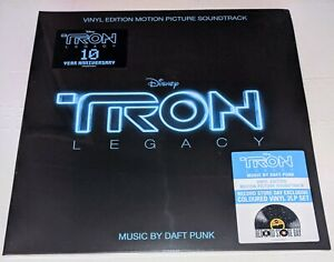 RSD RELEASE - 10th Anniversary TRON: LEGACY - Daft Punk - 2 x BLUE LPs - SEALED