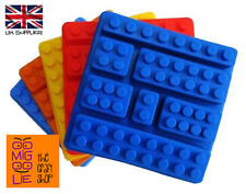 Building Bricks Silicone Construction Block Mold Chocolate Sweets Mould Ice Cube