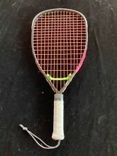 Ektelon Arc 2 Cirrus Graphite Racquet Pink Strings Rts Litening w/ Cover