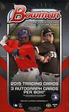 2015 Bowman Baseball Jumbo Box - Factory Sealed!