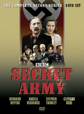 Secret Army (Complete Series 2) NEW PAL Cult 4-DVD Set B. Hepton A. Richards