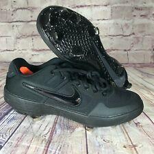 New listing Nike Alpha Huarache Elite 2 Low Baseball Cleats Black AJ6873-003 Mens Sz 9.5