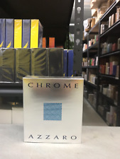 Chrome by Azzaro 3.4 oz Eau De Toilette Spray for men New In Sealed Box sealed