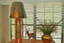 Vintage Elk Copper Antique Fire Extinguisher Lamp - A Collectors Item!