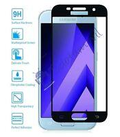 Protector de Pantalla Cristal Templado Curvo para Samsung Galaxy A5 2017 Negro