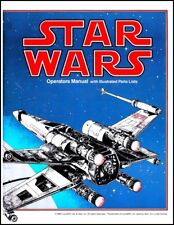 Star Wars Arcade Video FULL Service & Repair Operations Manual Troubleshoot   XC