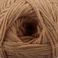 SAVE 50%  HERRSCHNERS WORSTED 8 YARN - PECAN - 489 YARDS - 8 OUNCES