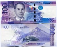 Philippines P208 2010 100 Piso Whale Shark Unc Banknote