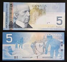 100X Bank of Canada $5 Uncirculated Notes, Canadian Bill Paper Money, Year 2006