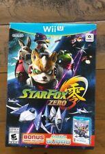 NEW- Star Fox Zero - Wii U Game - Unopened W/ Starfox Guard - Factory Sealed Set