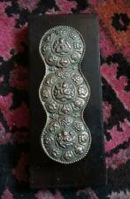 Unusual Brass Indian / Indo Persian Diety Door Handle