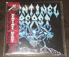 SENTINEL BEAST-DEPTHS OF DEATH NEW CD-JAPANESE STYLE MINI LP SLEEVE W/ OBI