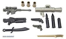 BrickArms Value #3 Militär Waffen Set, Custom für LEGO® Figuren