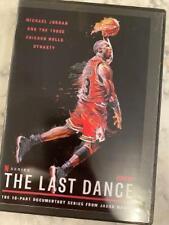 Case+ Cover Art Espn The Last Dance Michael Jordan Bulls 10 Part Documentary Dvd