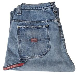 Vintage Polo Carpenter Jeans Mens 36 x 30. US Polo Assn Utility Jeans. Worn in