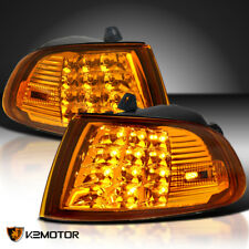 Fits 92-95 Honda Civic 2Dr/3Dr EG EH Amber LED Signal Corner Lights Left+Right