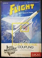 Vintage Flight Magazine, Aircraft, Spacecraft, Missiles- 30 March 1961