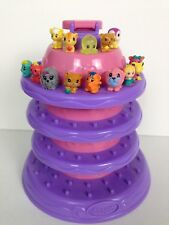 Squinkies By Blip Display Case Princess Cake Tier Tower & 14 figures