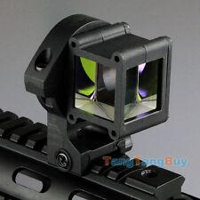 Tactical Reflect Angle Sight 360 Degree Rotate 4 Laser Sight Picatinny w/ Rail
