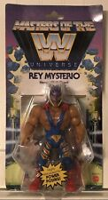 MASTERS OF THE WWE UNIVERSE REY MYSTERIO  Action Figure He Man