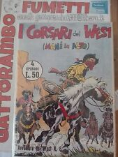 Le avventure del west n.8 nuova serie ristampa Anastatica - ed. Audace Magazzino