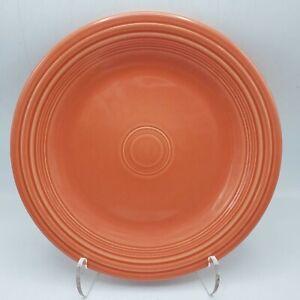 """Homer Laughlin FIESTAWARE Large Orange 10.5"""" Dinner Plate"""