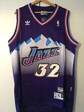 Canotta nba basket maglia Karl Malone jersey Utah Jazz Maglietta S/M/L/XL/XXL